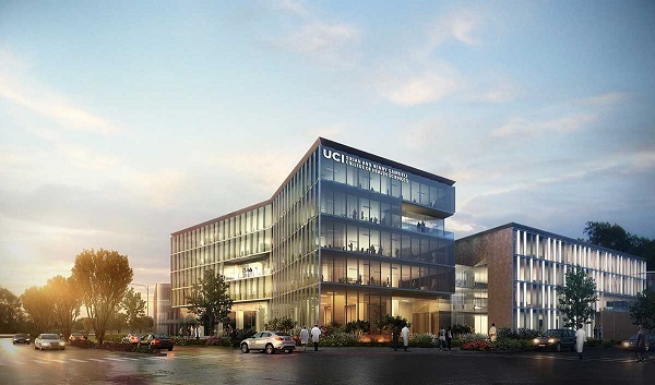 Artist's rendition of Future UCI Building