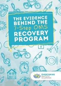 cover of the overcoming MS evidence booklet