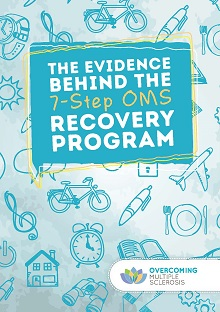 cover of the overcoming Multiple Sclerosis evidence booklet